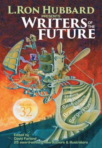 Cover from Writers of the Future, volume 32