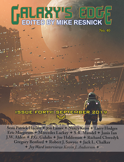 Cover from Galaxy's Edge Issue 40